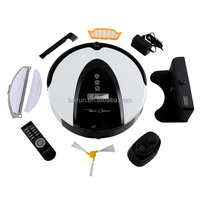 Portable robot vacuum cleaner with mop uv light recharging Factory