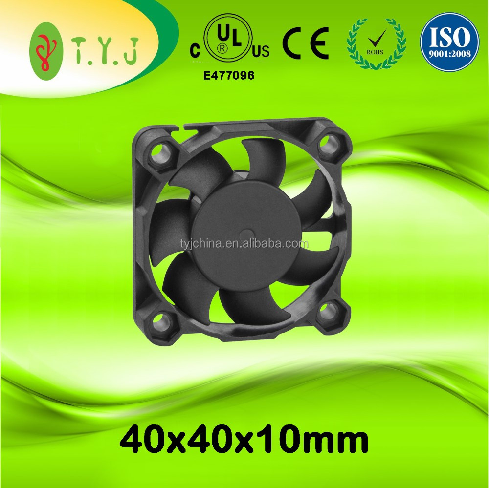 12v 40x40x10mm dc brushless cooling fans