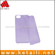 Solid-colored Plastic Case For iPhone 5C In High-quality
