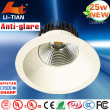 Super bright indoor cree high quality 1 watt recessed led mini downlight for library/subway/shops