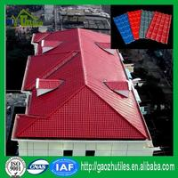 S Tiles Type and pvc/pvc roof corrugated roofing sheets