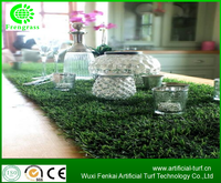 25 cm width natural looking and best selling landscaping synthetic turf with low price for table runner.WF-88060