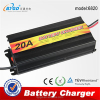 Storage battery use ac to dc 20a 24v 12v car battery charger