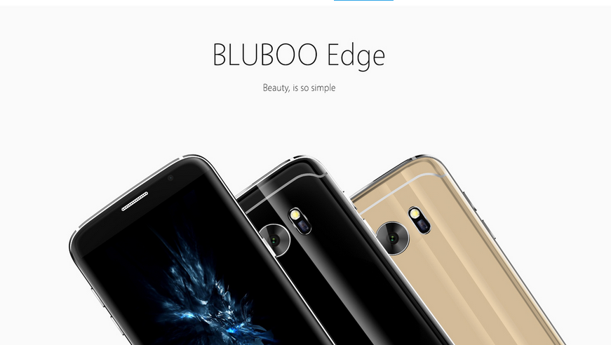"in stock ! 5.5"" Bluboo Edge MT6737 quad-core 2+16g android6.0os mobile phone"