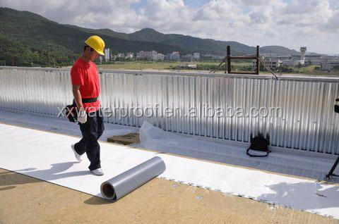 2mm reinforced PVC waterproofing membrane for roofing