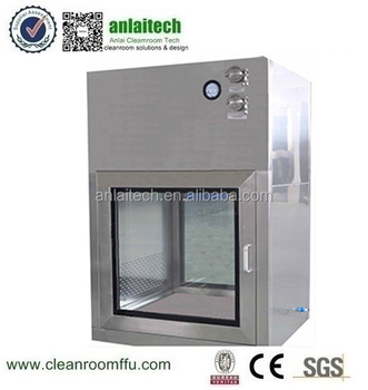 GMP Factory Cleanroom pass through/box with ISO CE standard