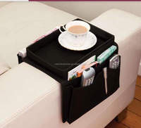 Sofa Armrest Caddy Arm Chair Caddy Remote Control Holder Organizer