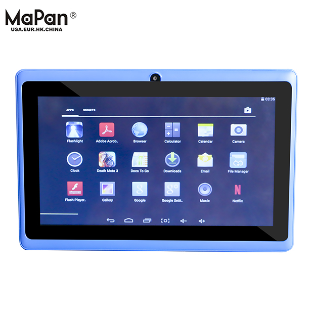 Cheapest China 7 inch tablet google android