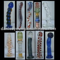ART GLASS DILDOS