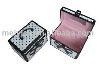 Hot sale Professional Aluminum cosmetic case with mirror