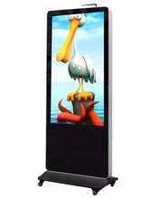 55 inch interactive internet kiosk terminal popup booth