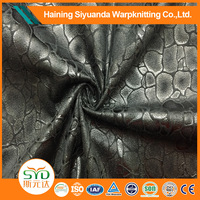 11.11 Global Sourcing Festival china manufacturer 4 way polyester stretch suede fabric