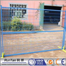 high quality ISO certificated pvc coated canada standard temporary fence temporary dog fence