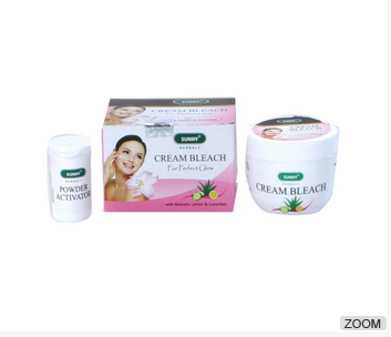 nature Herbals Cream Bleach Enriched With Aloevera, Lemon & Cucumber