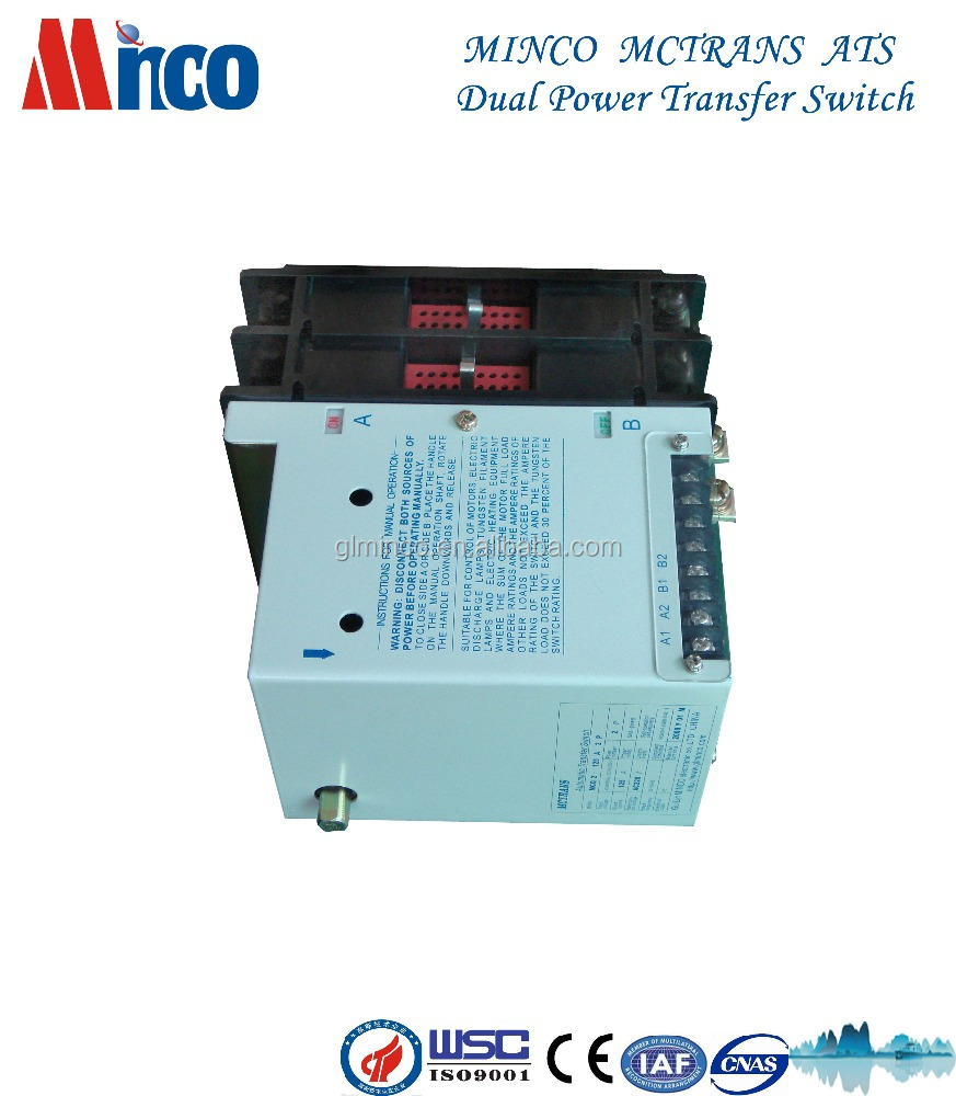 20A to 5000A 2P 3P 4P DC ats automatic transfer <strong>switch</strong>