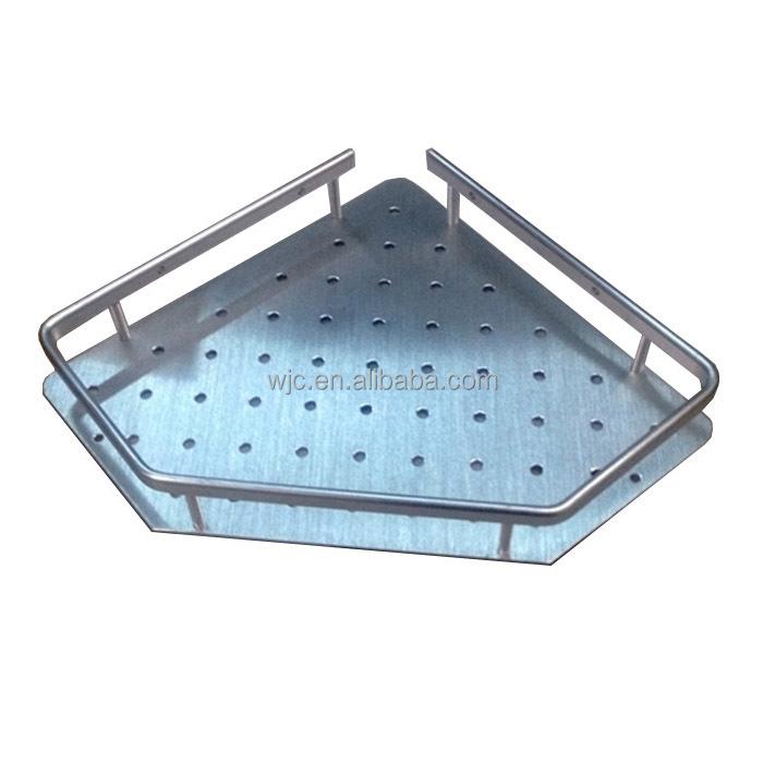 Estante De Baño Para Toallas:Baño de Aluminio Esquina Estante de la Toalla HC103-1-Estanterías de