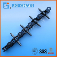 made in china heat treatment new style ODM service alloy steel tobacco chain free flow chain conveyor