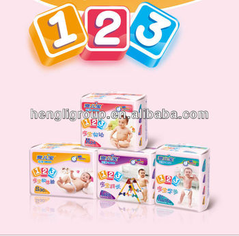 Economic baby diapers manufacturer from Fujian China