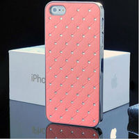 Diamond Case for iPhone 5,For iPhone Chrome Phone Cover