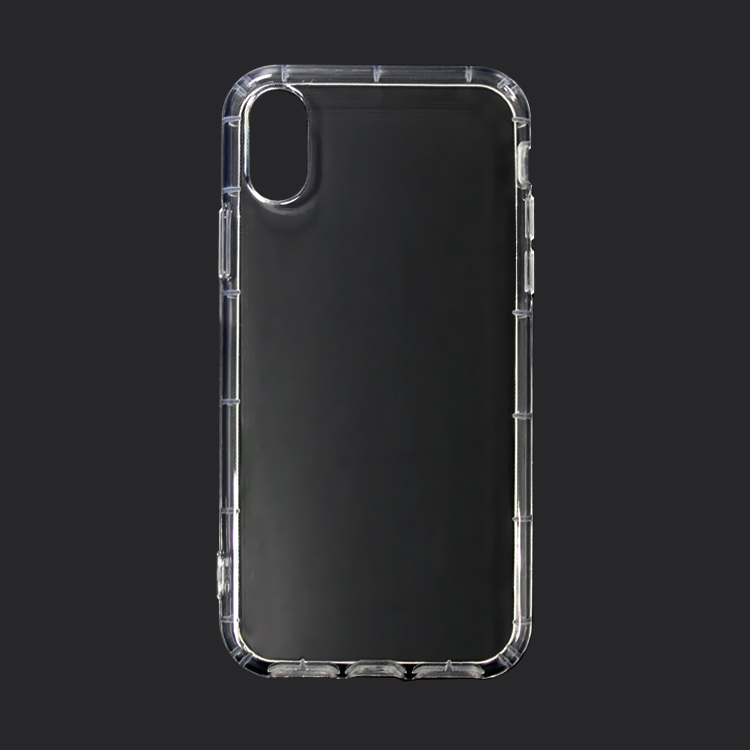 1.2mm Thickness Ultra Slim Transparent Crystal Clear Soft TPU Phone Case For iPhone X Cell Phone <strong>Accessories</strong>