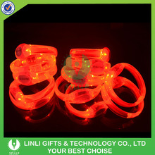 Supplies New Year Festive Glow LED Bracelet With Logo For Promotion, Glow In Dark LED Glow LED Bracelet For Event & Party
