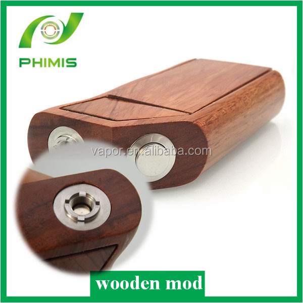 mechanical mod vapor wooden mod clone e-cig 2014 Factory price Most Popular e-cig