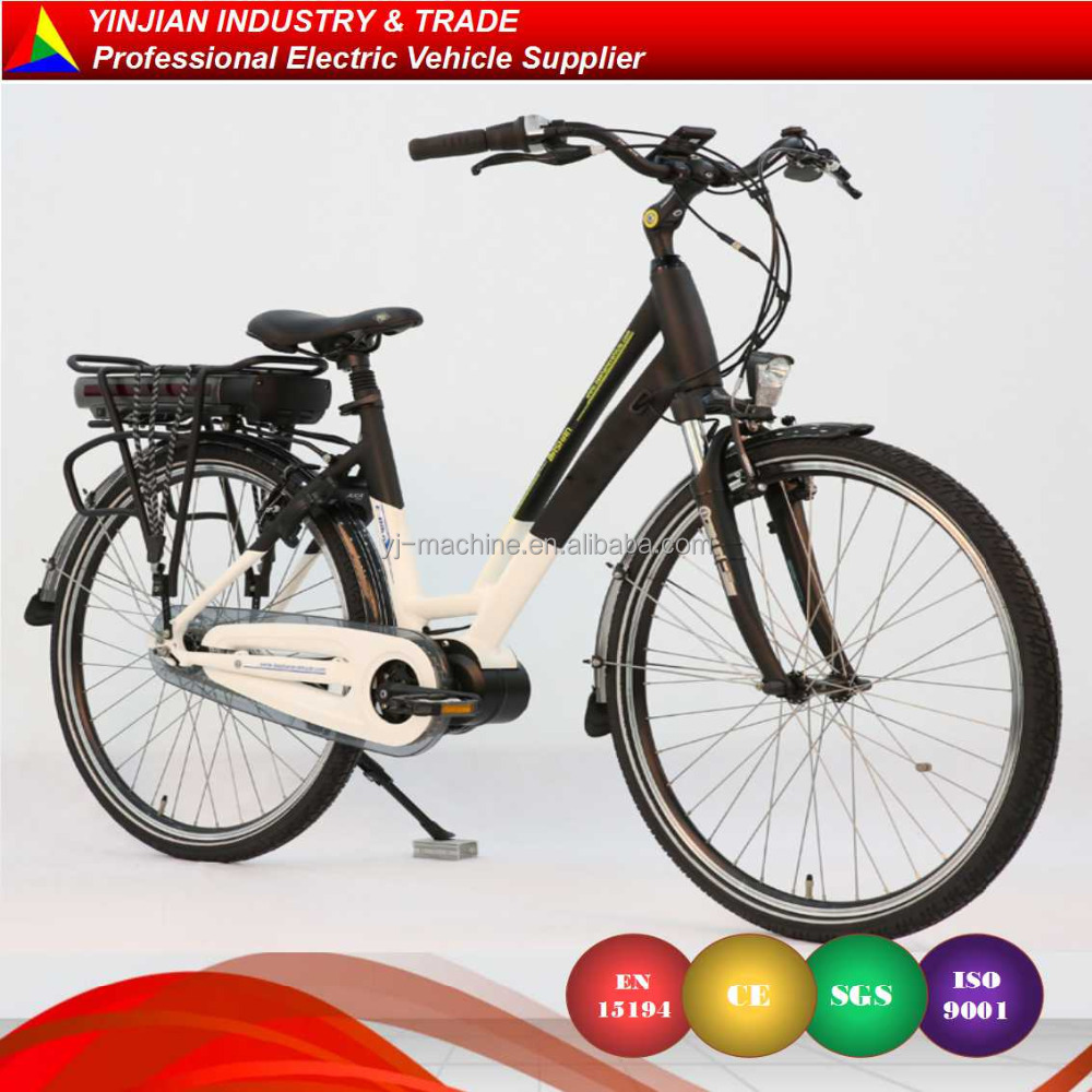 Classic model CE EN15194 City E Bike Mid Motor Electric Bicycle,Electric Bike for Woman