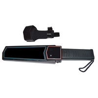 Handheld metal finder detector for long distance bus station