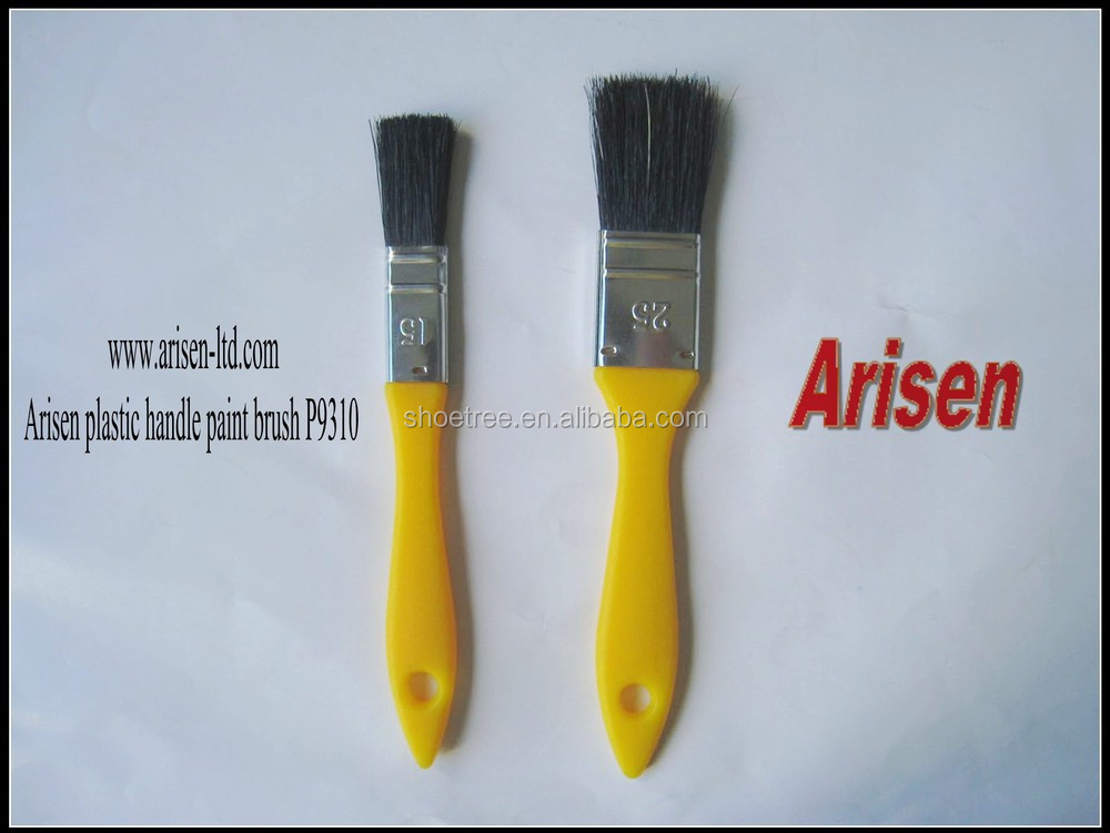 Polyester wood handle paint brush 736WN