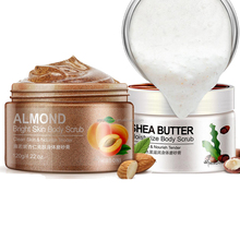 Almond butter bright & moisturize body scrub OEM provided
