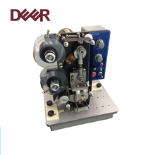 Supplier direct high quality solid-ink ribbon batch expiry date coding machine