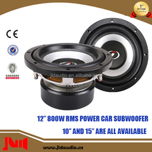 JLDAudio Fashion Subwoofer With 800w RMS 12 Inch Subwoofer Speaker For Car
