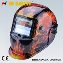 auto-darkening welding mask helmet for low carbon welded wire mesh