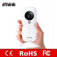 Plastic SD card storege indoor wireless ip camera made in China Ithink surveillance camera wifi
