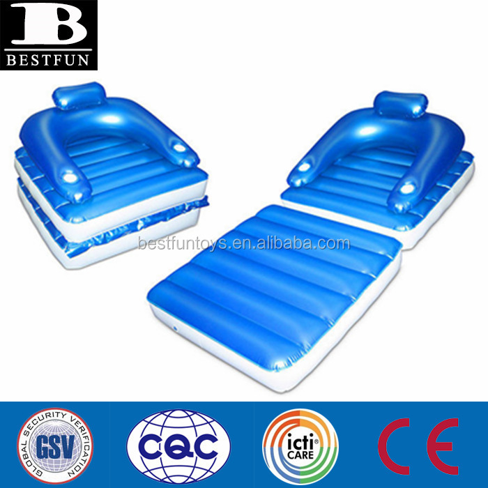 Inflatable Floating Lounge Swimming Pool Water Bed