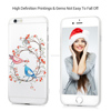 Glitter Bling Diamonds Gems with Hollow Floral Printing Pack of 2 Covers for iPhone 7/7Plus