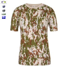Wholesale Blank 90% Cotton 10% Polyester Military T Shirt