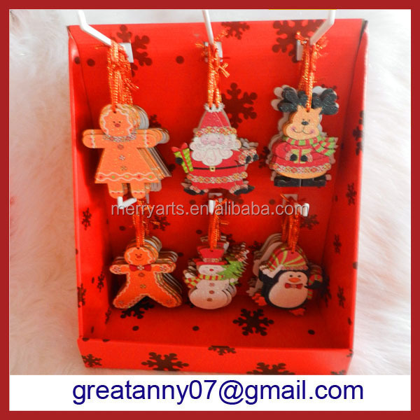 new products 2016 Creative promotion gifts nativity cute christmas tree ornaments holiday hanging crafts