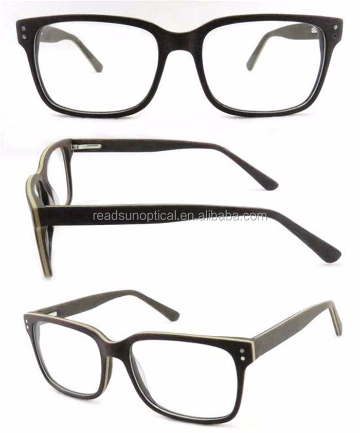 Safety glasses acetate big head optical frames