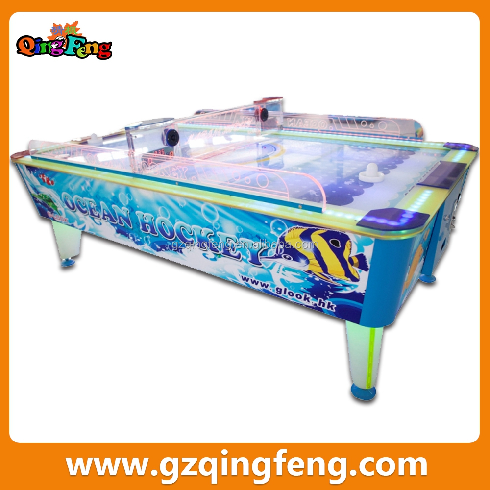 Qingfeng 2016 Chinese new year promotion air hockey table games machine multi game table for adult