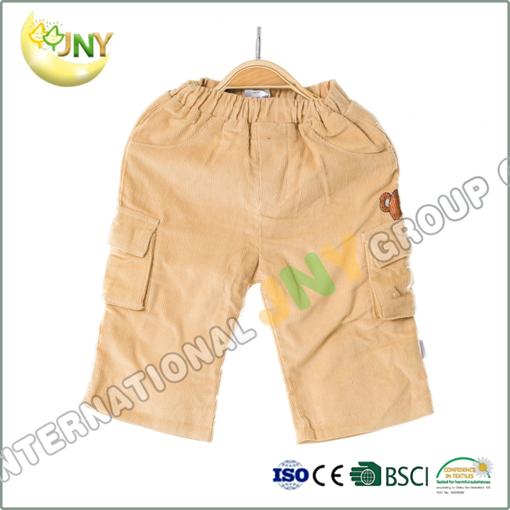 2016 new children pants autumn baby boy cotton thick solid leggings trousers pick size