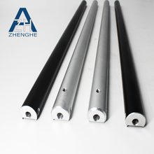 zhenghe china supplier natural mill finish extruded aluminum profile round pipe