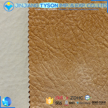 Custom made waterproof pvc artificial leather fabric for sofa furniture