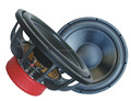 Digital design 12 Inch Car Subwoofer with gray sandy powder frame