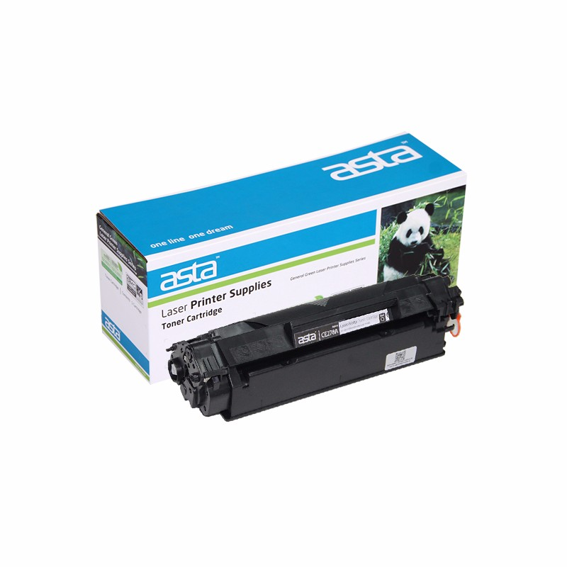 ASTA 78a 278a compatible toner cartridge use for hp laser jet toner cartridge toner ce278a china supplier