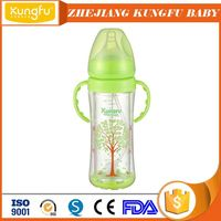 China baby feeding supplies Zhejiang Factory Milk Bottle Jinhua Industrial Feeder Yiwu Plastic Glass Feeding Bottle