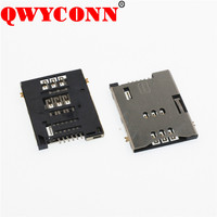 New Type SIM Push-Push Type 6 PIN Card connector