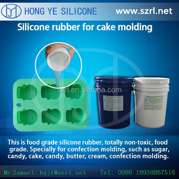 Non toxic Food grade liquid silicone to make candy chocolate molds
