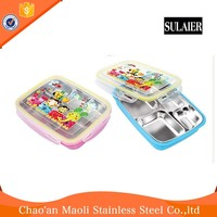 Name Brand Leakproof Office Worker Bento Lunch Box Container