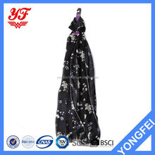 Skin - friendly windproof soft keep warm wholesale simple design decorated with beads scarf
